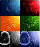 γardiogram διανυσματική απεικόνιση