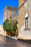Arditi castle. Presicce. Puglia. Italy. Royalty Free Stock Images