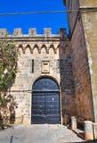 Arditi castle. Presicce. Puglia. Italy. Royalty Free Stock Photography