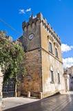 Arditi castle. Presicce. Puglia. Italy. Stock Image