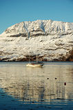 Ardmair Bay. Winter time in Ardmair Bay, Highlands of Scotland Royalty Free Stock Photography