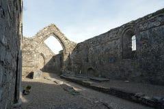 01.09.2013 - Ardmore圆的塔和大教堂。 免版税库存图片