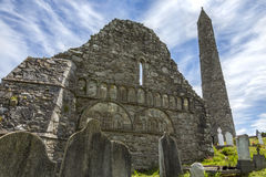 Ardmore大教堂-沃特福德郡-爱尔兰 库存照片
