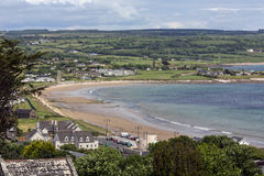 Ardmore - графство Уотерфорд - Ирландия Стоковое фото RF
