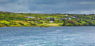 Ardmore bay and coast Stock Image