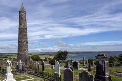 Ardmore Cathedral - County Waterford - Ireland royalty free stock photo