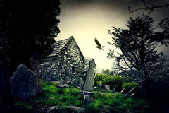 Ardmore cemetery. In county Waterford Ireland stock images