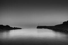 Ardmore 15 08 2016. Ardmore (Irish: Aird Mhór, meaning Great Height) is a seaside resort and fishing village in County Waterford, Ireland, not far from royalty free stock images