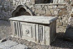 01.09.2013 - Ardmore Round katedra i wierza. Fotografia Stock