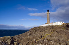 Ardnamurchan Lighthouse. The Ardnamurchan Peninsula lies due west of Fort William in the West Highlands of Scotland. Ardnamurchan Point, the most westerly point Royalty Free Stock Images