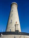 Ardnamurchan Lighthouse. In Scotland with blue sky background Stock Image