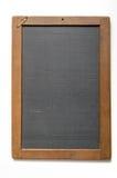 Ardoise antique de craie avec le réseau Image stock