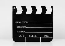 Ardoise de film Photographie stock