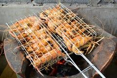 Ardor tailandês do camarão fotografia de stock royalty free