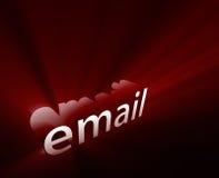 Ardore del email illustrazione vettoriale