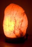 Ardore della lampada del sale Fotografia Stock