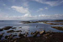 Ardrossan港口苏格兰 免版税库存图片