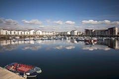 Ardrossan hamn Fotografering för Bildbyråer