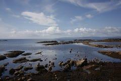 Ardrossan Harbor Scotland. View across Ardrossan Harbor on the West Coast of Scotland Royalty Free Stock Image