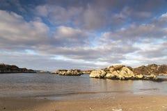 Ardtoe海滩 库存照片