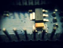 Arduino Electronics binnen Stock Afbeelding