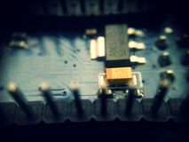 Arduino Electronics inside. It was inside of an arduino Stock Image