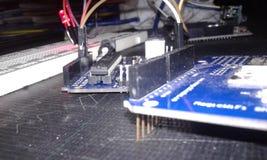 Arduino met Internet - Elektronika Royalty-vrije Stock Afbeeldingen