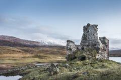 Ardvreck Castle σε Sutherland, Σκωτία Στοκ φωτογραφία με δικαίωμα ελεύθερης χρήσης