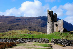 Ardvreck Castle. Royalty Free Stock Image