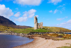 Ardvreck Castle. Stock Images