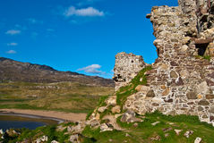 Ardvreck Castle Royalty Free Stock Images