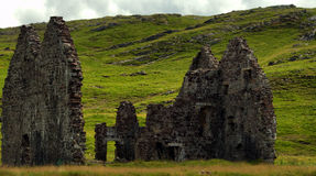 Ardvreck Castle house Royalty Free Stock Image