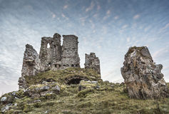 Ardvreck Castle on Loch Assynt. Ardvreck Castle on Loch Assynt in the Highlands of Scotland Royalty Free Stock Photography