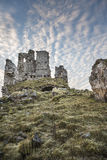 Ardvreck Castle on Loch Assynt in Scotland. Ardvreck Castle ruins on Loch Assynt in Scottish highlands Stock Image
