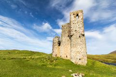Ardvreck Castle ruins Stock Photo