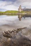 Ardvreck Castle in Sutherland, Scotland. Ardvreck Castle ruins on Loch Assynt in Sutherland, Scotland Stock Photos