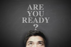Free Are You Ready Stock Image - 56332591