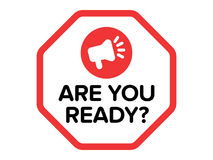 Are You Ready Vector Stock Photography
