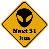 Area 51 Royalty Free Stock Image