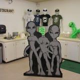 Area 51 Alien Center Royalty Free Stock Photos