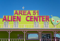 Area 51 Alien Center Stock Images
