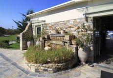 Area of Anthemus Sea Beach Hotel. Royalty Free Stock Image