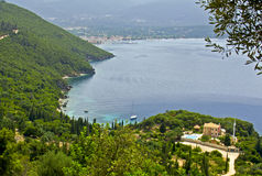 Area of 'Antisamos' at Sami of Kefalonia. Island in Greece Stock Photography