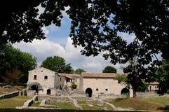 Area of archeology sepino. Area of archeology altilia sepino itlay royalty free stock photos
