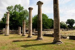 Area of archeology sepino. Area of archeology altilia sepino itlay Stock Image