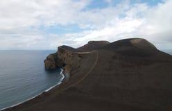 Area around Farol dos capelinhos. Area around ofCapelinhos lighthouse in Faial island, Azores Portugal Stock Images