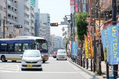 the area around Koenji Station Royalty Free Stock Images