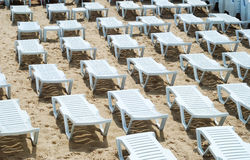 Area of a beach for comfortable rest Stock Photo