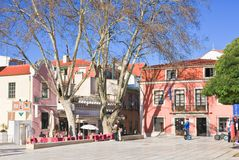 Area in Cascais. Portugal Royalty Free Stock Images