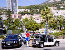 Area Casino in Monte Carlo Royalty Free Stock Images